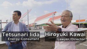 Mr. Hiroyuki Kawai and Mr. Tetsunari Iida